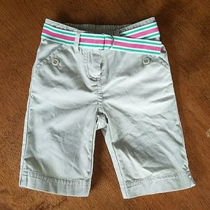 Janie and Jack Girls Pants with Belt. Hardly Worn!